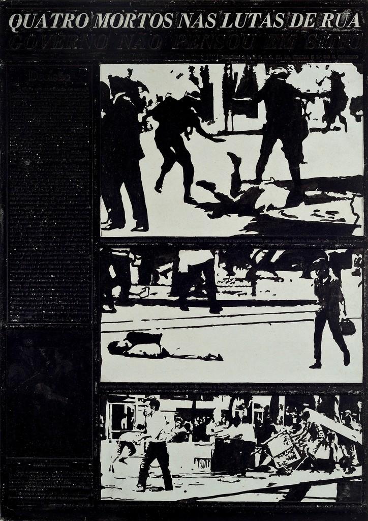 Antonio Manuel, 'Flan: Movimento Estudantil,' 1968, Ronie Mesquita Galeria