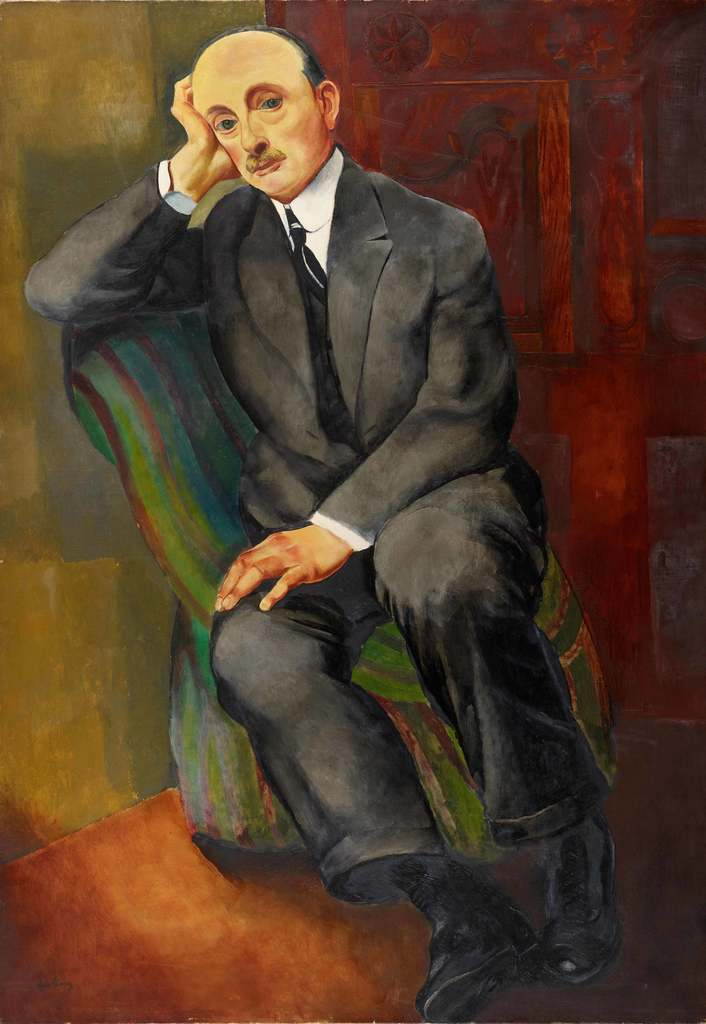 Moise Kisling. Portrait d'homme (Jonas Netter)