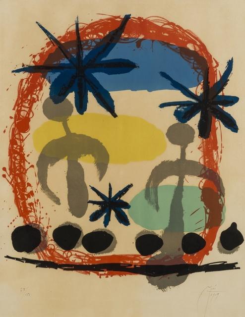 Joan Miró, 'Affiche de l'exposition 'Constellations' (Mourlot 191)', 1959, Forum Auctions