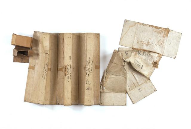 Robert Rauschenberg, 'Baton Blanche (Cardboard)', 1971, Cardboard, Robert Rauschenberg Foundation