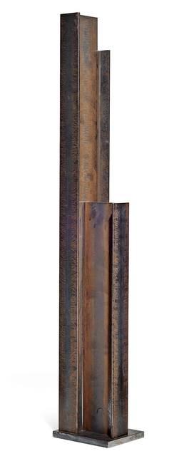 James Licini, 'Stahlbau', Sculpture, Steel, Koller Auctions