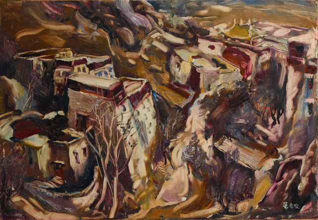 Pei Zhuangxin, 'Sera Monastry ⾊拉寺', 1983, W.Ming Art