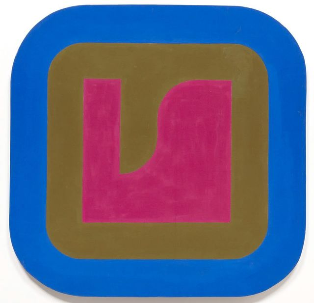 , 'Magenta, Olive and Blue,' 1966, Leon Tovar Gallery