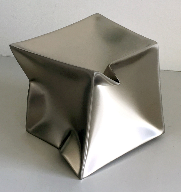 , 'Imploded Cube,' 2015, Borzo Gallery
