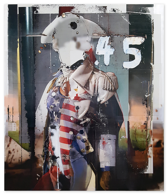 , '.45,' 2016, Catharine Clark Gallery