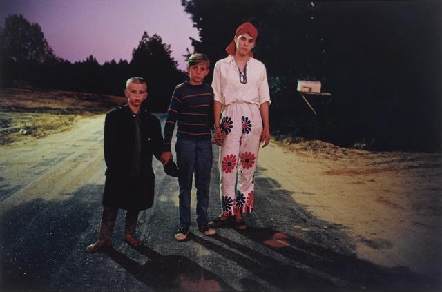 William Eggleston, 'Outskirts of Morton, Mississippi, Halloween', 1971, Sotheby's