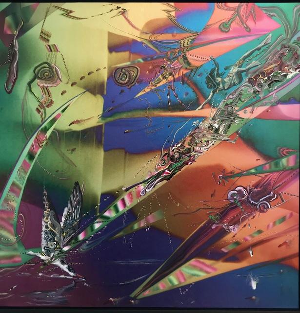 Gegam Kacherian, 'Witness', 2017, Painting, Acrylic & UV coated Ink on Mylar, Tufenkian Fine Arts