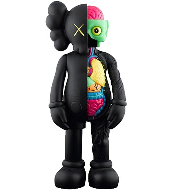 KAWS, 'Black Flayed Companion Open Edition', 2016, EHC Fine Art: Essential Editions VIII