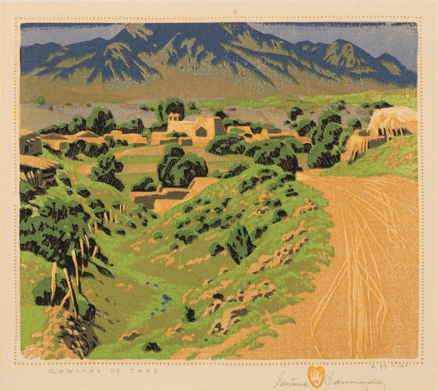, 'Ranchos de Taos,' 1930, Aaron Payne Fine Art
