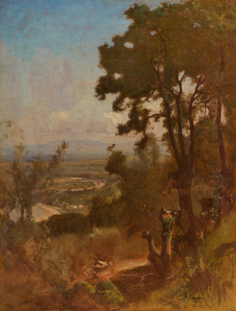 , 'Valley Near Perugia,' , Questroyal Fine Art