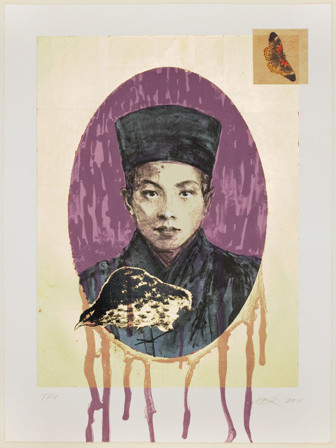 , 'Butterfly Dreams: Purple Nun,' 2011, Tamarind Institute