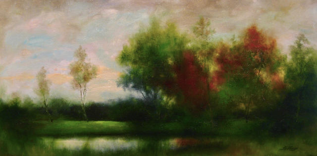 Penny Billings, 'By The Pond', ca. 2017, Handwright Gallery