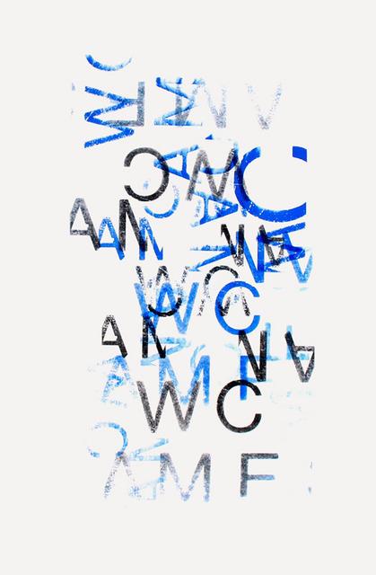 , 'Typo Comp 1,' 2010, Espace40