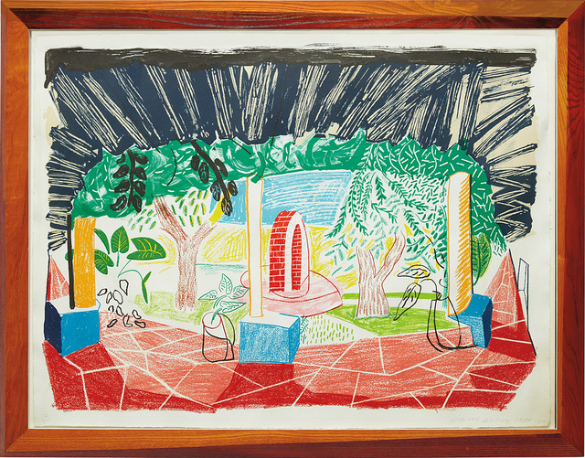 David Hockney, 'Views of Hotel Well I, from Moving Focus series', 1985, Phillips