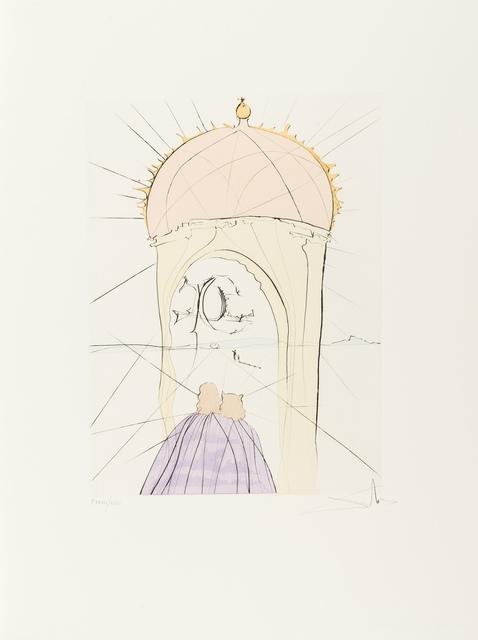 Salvador Dalí, 'The Museum of  Genius and Fancy (Field 74-8L; M&L 676d)', 1974, Forum Auctions
