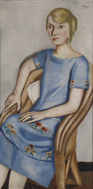 , 'Portrait of Irma Simon,' 1924, Galerie St. Etienne