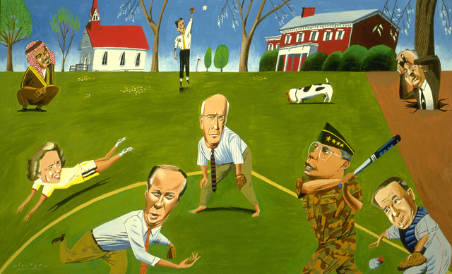 , 'Softball Sunday: McLean, Virginia,' 1998, Modernism Inc.