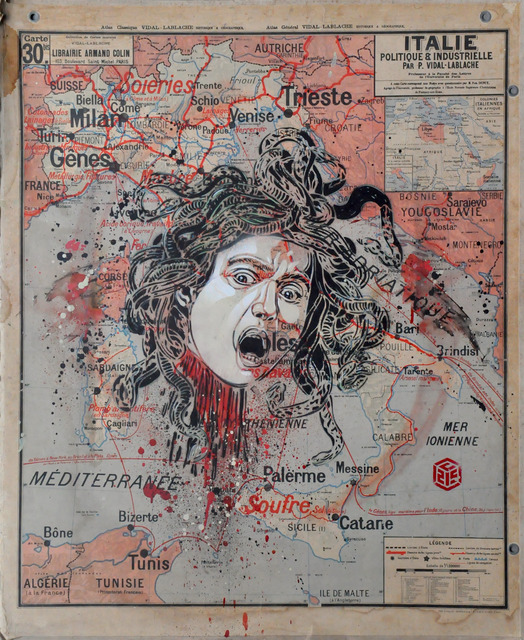 , 'Medusa,' 2019, Mazel Galerie