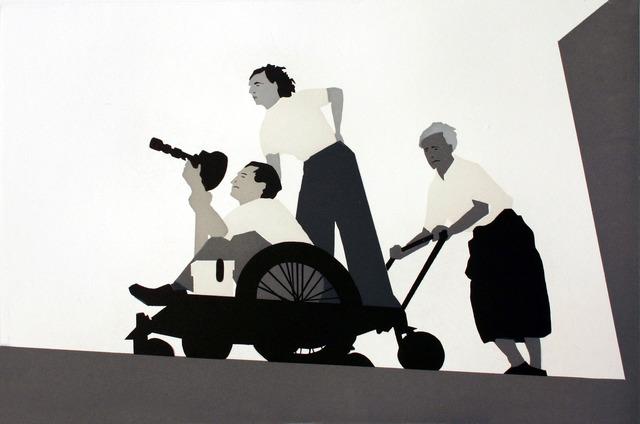 Kota Ezawa, 'Riefenstahl', 2006, Print, Color aquatint etching, Paulson Fontaine Press
