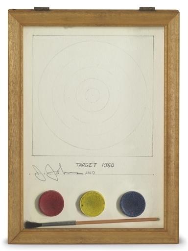 Jasper Johns, 'Target', Christie's
