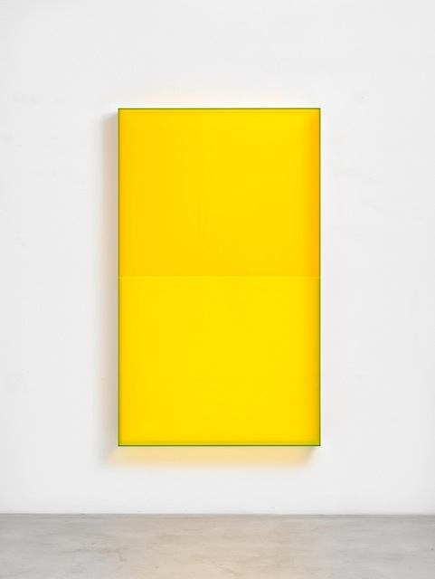 , 'color pastel yellow belt cologne,' 2018, Galerie Judith Andreae