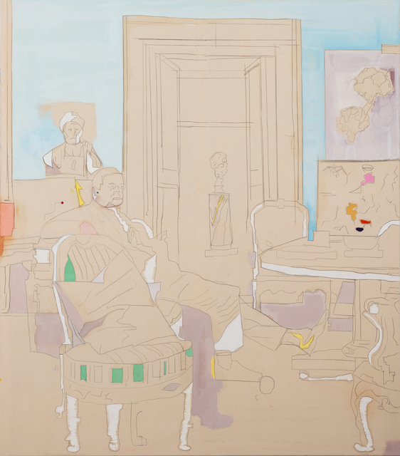 , 'Cy Twobmly, Rome Interior,' 2018, Charim Galerie