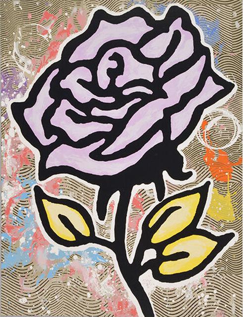 Donald Baechler, 'Violet Rose', 2015, Artsnap