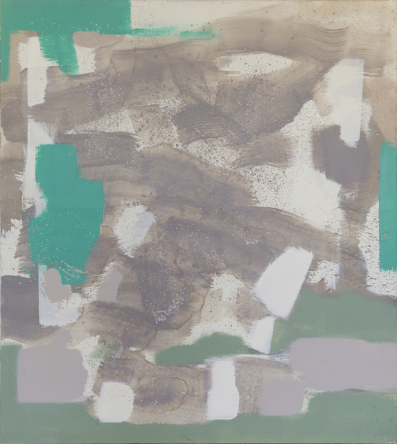 , 'Untitled (Tan, Green, White),' , Taylor | Graham