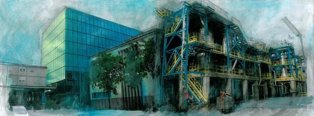 , 'Basel Complex,' 2012, Burning Giraffe Art Gallery