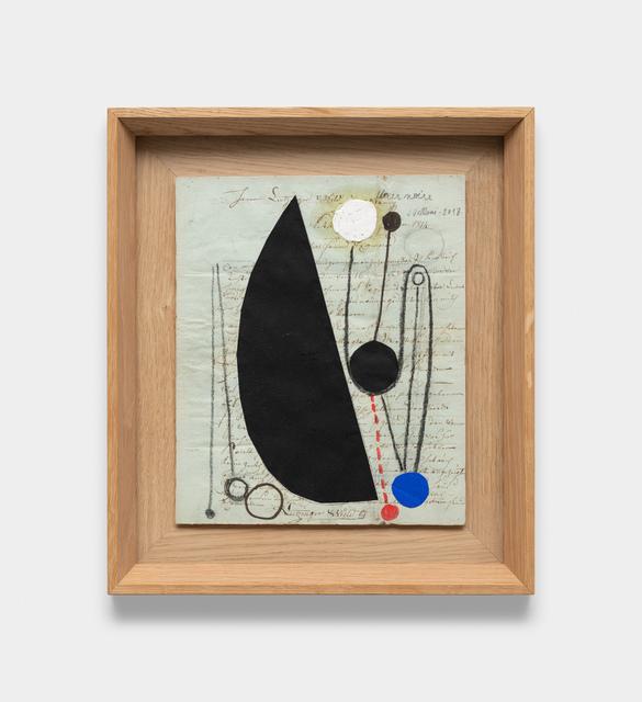 Julio Villani, 'fleur noire', 2018, Galeria Raquel Arnaud