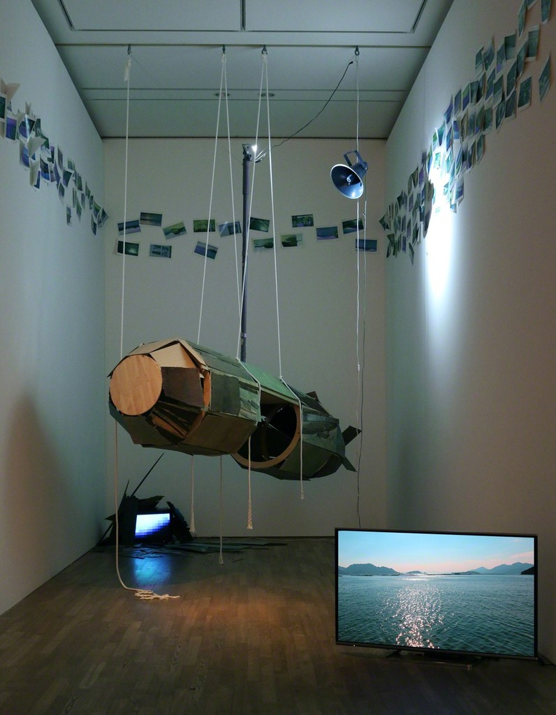 "Solo exhibition ""Recollection - Human Torpedo"" 2015 (The University Art Museum, Tokyo University of the Arts), (c) Haruko Sasakawa"