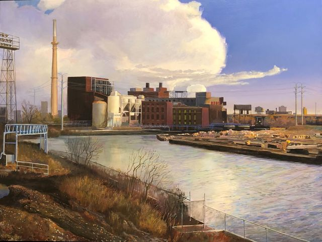 , 'South Branch Chicago River,' 2018, Gallery Victor Armendariz