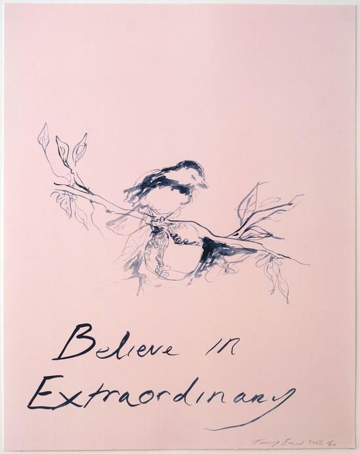 , 'Believe in Extraordinary,' 2015, Hang-Up Gallery