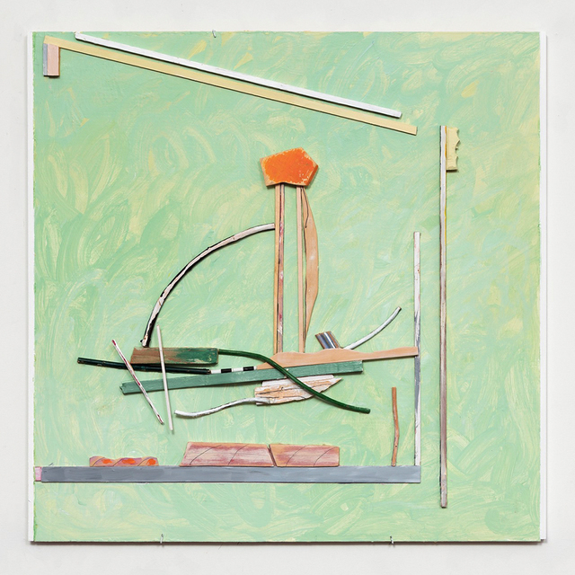 , 'Five Places: (Green),' 2016, A.I.R. Gallery