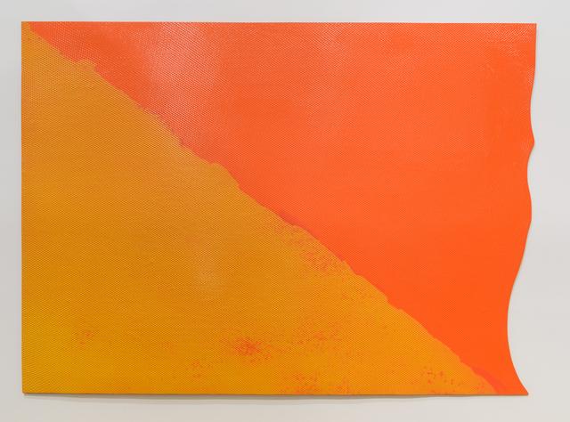 , 'Red Edge ,' 1968, Diane Rosenstein