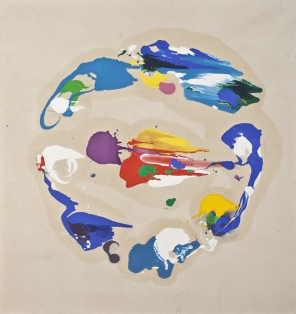 , 'Blue Circular,' 1982, Walter Wickiser Gallery