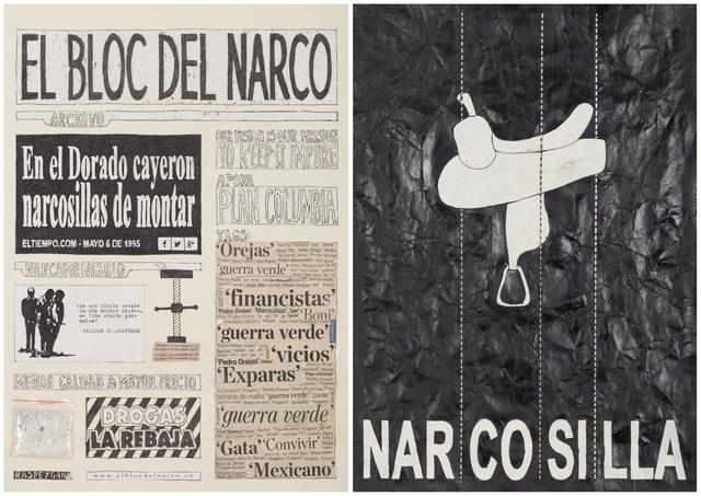 , 'El Bloc Del Narco #6,' 2016, Steve Turner