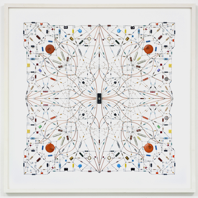 , 'Technological mandala #64,' 2015, The Flat - Massimo Carasi