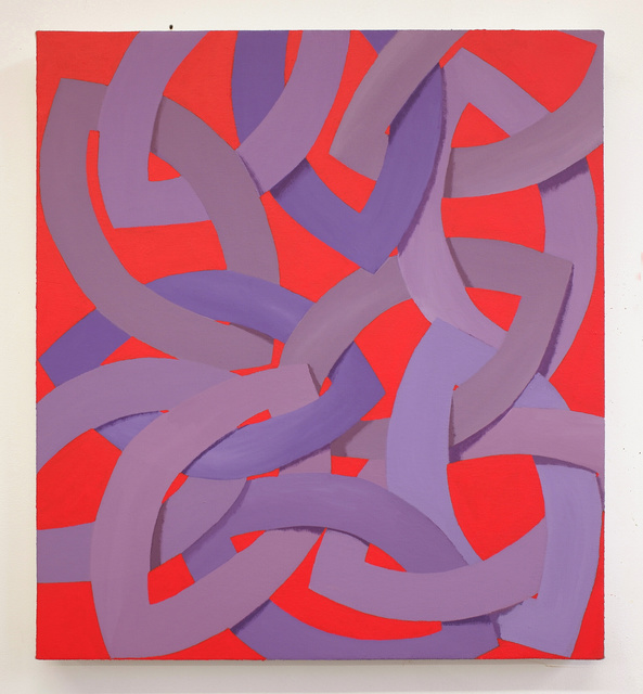Corydon Cowansage, 'Purple and Red', 2019, Reynolds Gallery