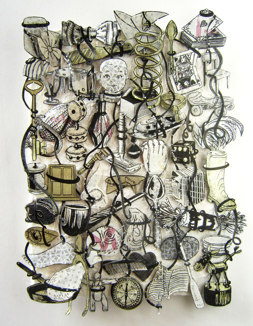 , 'Loose Tapestry of Daily Life (Deck of Cards),' 2011, Galerie Lelong & Co.