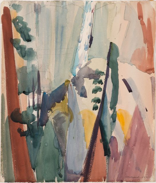 , 'Yosemite Falls,' 1920, Debra Force Fine Art