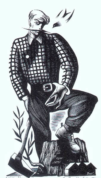 , 'Paul Bunyan,' 1946, Childs Gallery