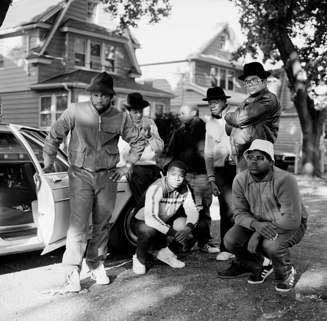 , 'Run DMC and posse, Hollis, Queens,' 1984, Fahey/Klein Gallery
