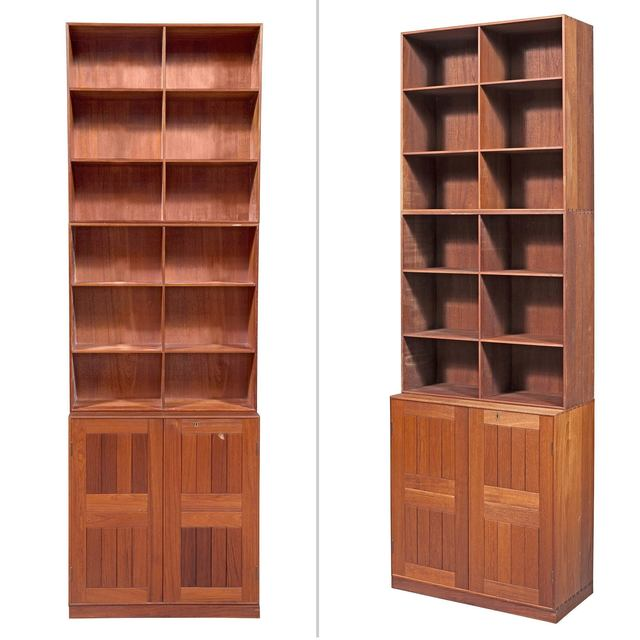 'Mogens Koch Teak Modular Bookcase', Designed 1948, Doyle