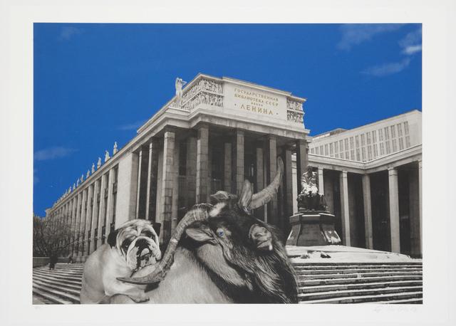 Oleg Kulik, 'The State Russian Library', 1999, Giampaolo Abbondio