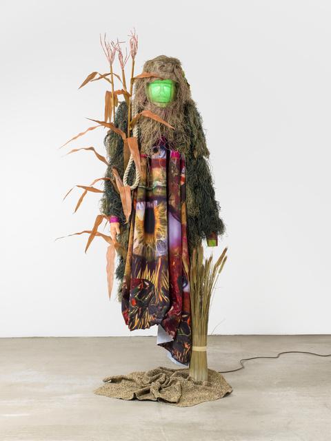 , 'encrypted body,' 2017, Galerie Guido W. Baudach