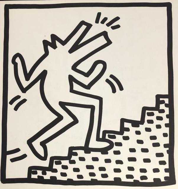 Keith Haring, 'Keith Haring (untitled) crocodile lithograph 1982', 1982, Lot 180