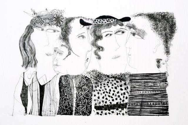, 'Groupthink,' 2016, Dreipunkt Edition