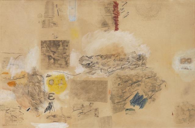 Robert Rauschenberg, 'A-Muse', 1958, Peter Freeman, Inc.