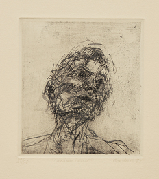 Lucian Freud, from Six Etchings of Heads